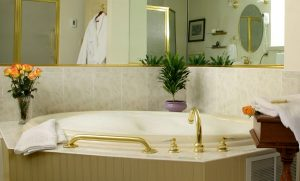 hotel room tub