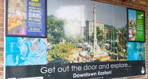 downtown easton pa