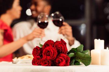 Roses Wine Couple
