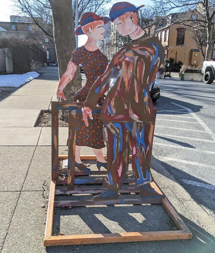 Artist-Designed Sculpture Bike Racks in Easton PA